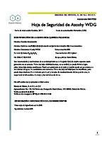 AZOSHY 50 WDG