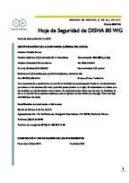 DISHA 80 WG